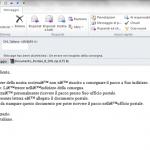Il virus arriva per corriere una mail sospetta